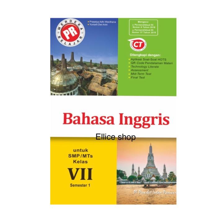 Jual Buku Pr Lks Bahasa Inggris Kelas 7 Tahun 2020 Semester 1 Kota Surabaya Ellice Shop Tokopedia