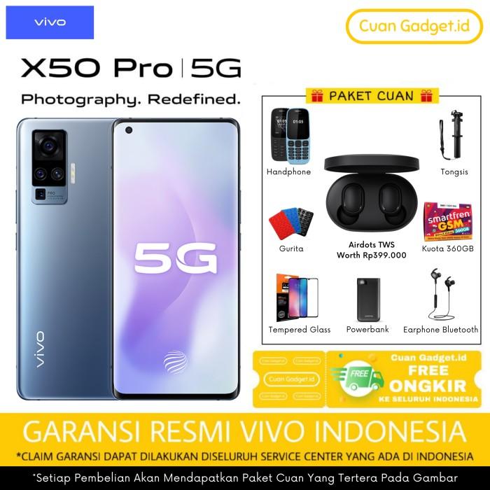Foto Produk VIVO X50 Pro 8/256 GARANSI RESMI dari Cuan Gadget.id