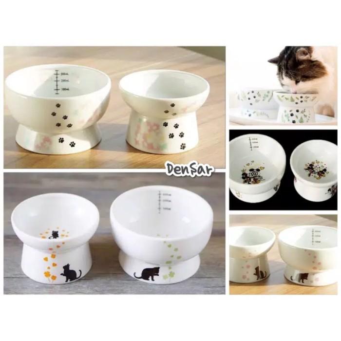 Jual Cat Bowl Keramik Tempat Makan Dan Minum Kucing Jakarta Utara Densar Tokopedia