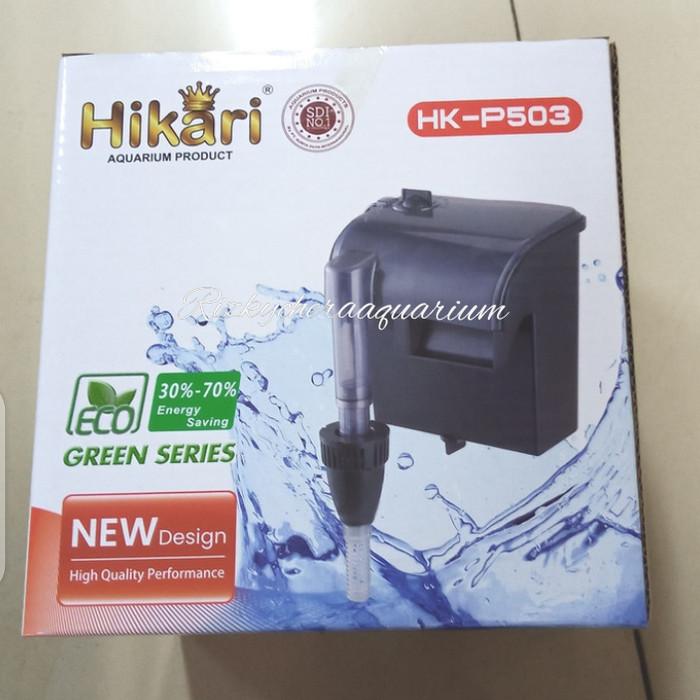 Jual pompa filter gantung aquarium aquascape Hikari HK ...