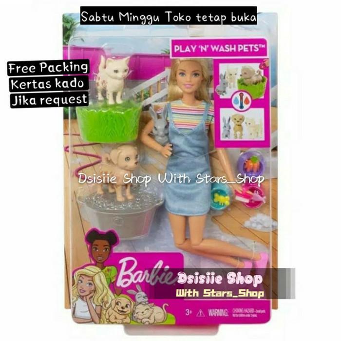 Jual Barbie Play And Wash Pets Doll Original Mainan Boneka Barbie Jakarta Utara Stars Shop Tokopedia