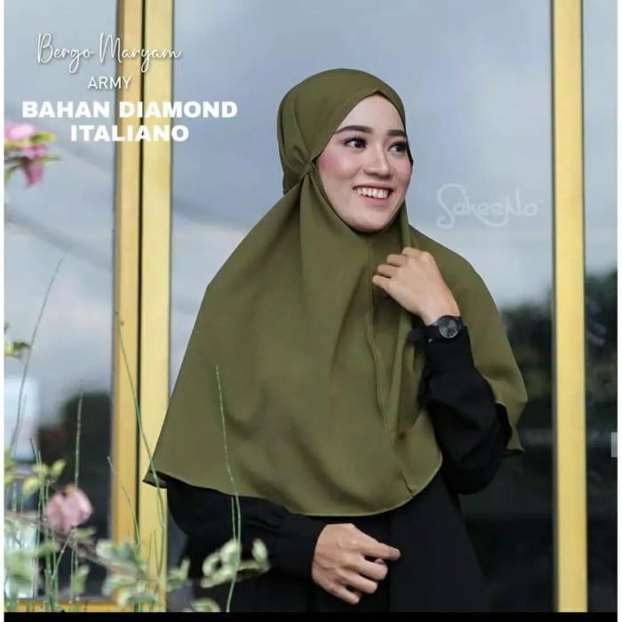 Jual Jilbab Bergo Maryam Hijab Instan Non Pet Army Kab Jepara Yasicha Olshop Tokopedia