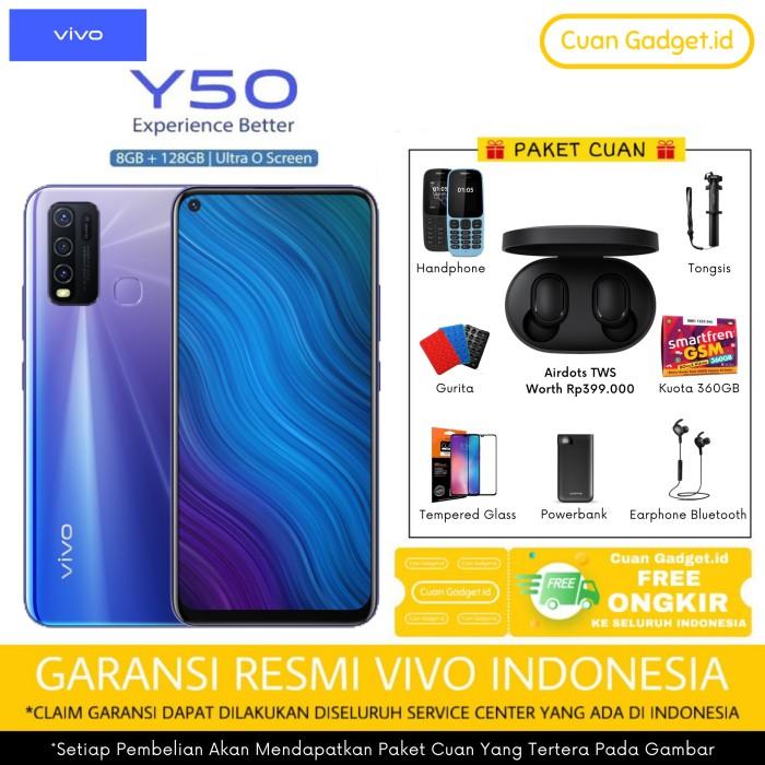 Foto Produk VIVO Y50 8/128 GARANSI RESMI INDONESIA dari Cuan Gadget.id
