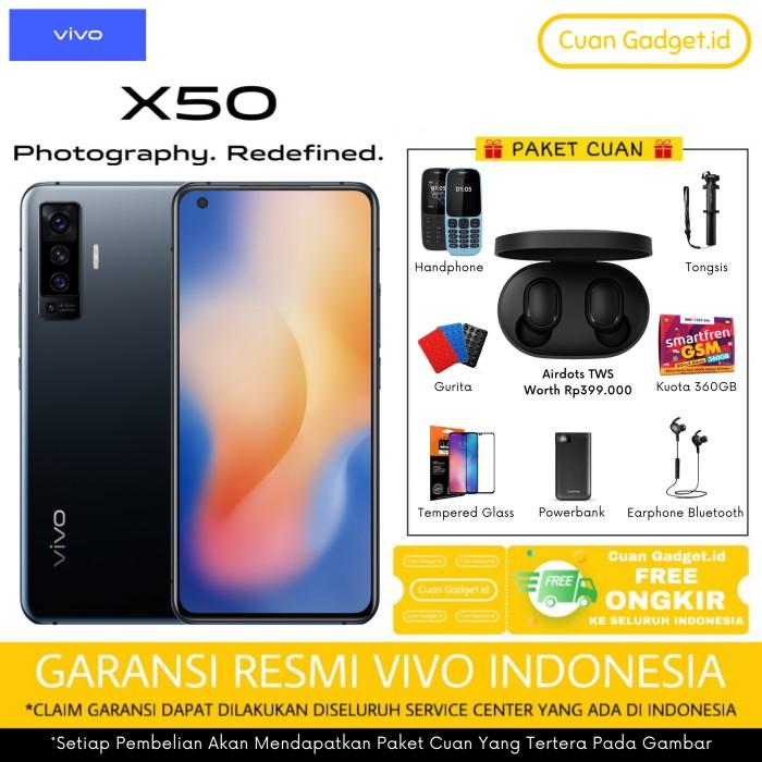 Foto Produk VIVO X50 8/128 GARANSI RESMI dari Cuan Gadget.id