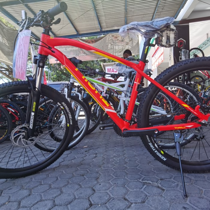 Jual Fullbike Sepeda Mtb Thrill Vanquish 3 0 2021 New Kab Buleleng Bike Centre Tokopedia