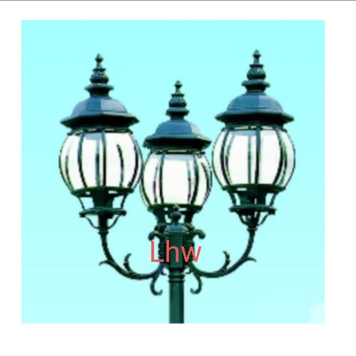 Jual Lampu Hias Taman Tiang 4003 Cabang 3 Dekorasi Indoor Outdoor Hitam Jakarta Utara Universal Lhw Tokopedia