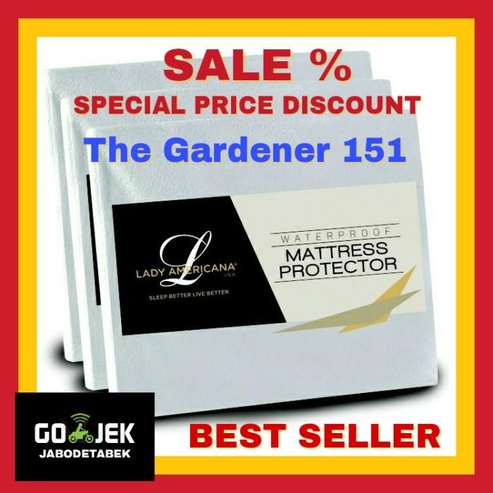 Foto Produk 180x200 Matres Protector Mattres Matress Cover Bed Topper Anti Air 180 dari The Gardener 151