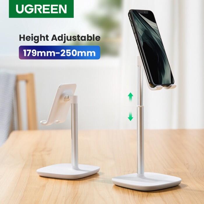 Foto Produk Ugreen Adjustable High Desk Phone Holder White 80358 dari Ugreen ID