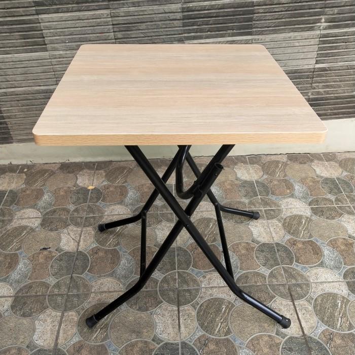 Jual Meja Lipat Uk 60x60 Putih Jakarta Utara Nicky Furniture Tokopedia