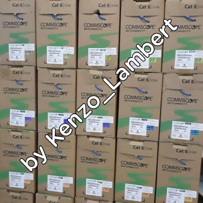 Foto Produk kabel data utp cat 6 amp / amp / kabel lan cat 6 / amp cat6 dari kenzo_lambert