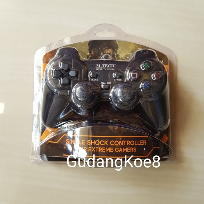 Foto Produk Joy stick / Gamepad / Stik PC Komputer Usb Single Hitam Laptop Murah dari GudangKoe8