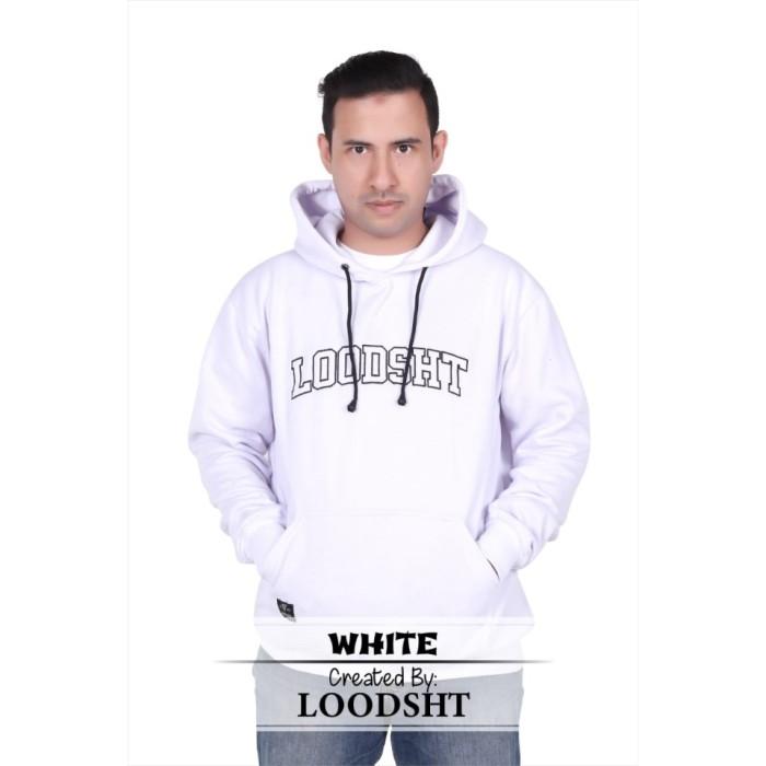 Foto Produk HOODIE / SWEATER ORIGINAL LOODSHT (KODE SHT1) WHITE - Putih, M dari LOODSHT