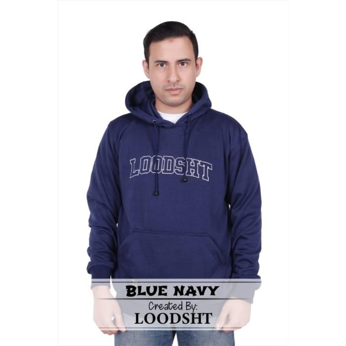 Foto Produk HOODIE / SWEATER ORIGINAL LOODSHT (KODE SHT1) BLUE NAVY - Biru Navy, M dari LOODSHT