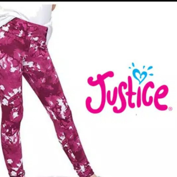 Jual Justice Legging Motif Abstrak Marun Jakarta Pusat Naomikids Tokopedia
