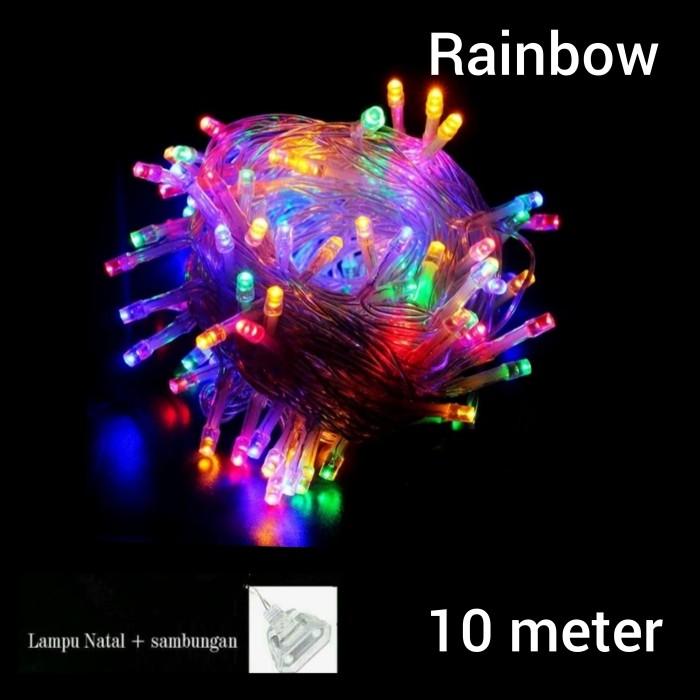 Foto Produk lampu Natal/ lampu hias natal /lampu tumbler warna warni rainbow dari Atianshop