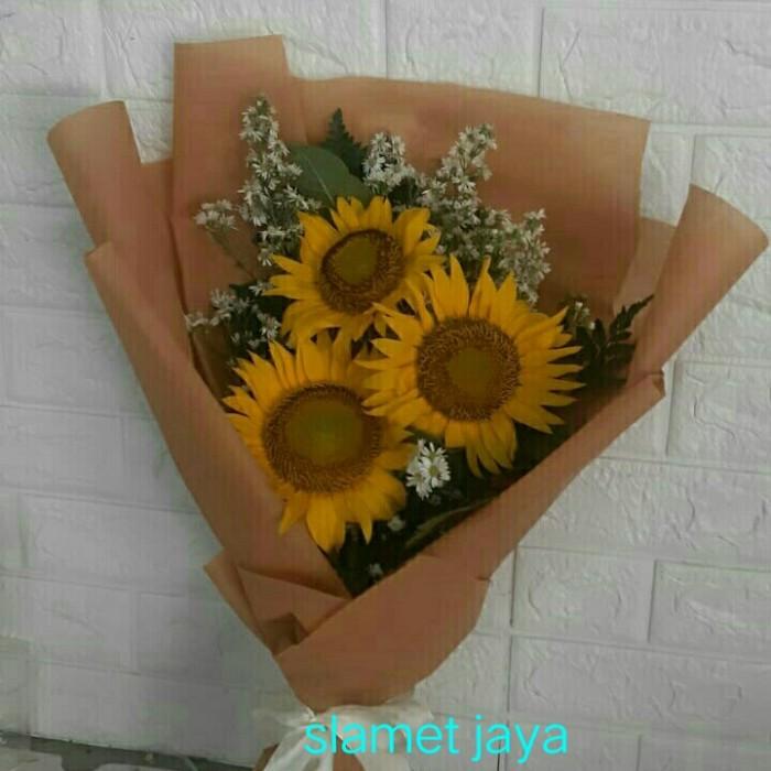 Jual Buket Bunga Matahari Segar Jakarta Selatan Slamet Jaya Florist Tokopedia