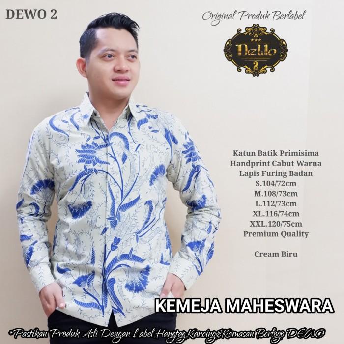 Foto Produk kemeja batik pria slim fit lengan panjang premium quality dari Jivan Batik