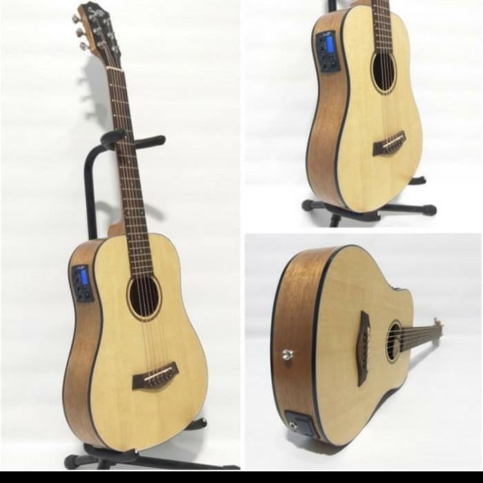 Foto Produk Gitar akustik elektrik Cowboy GW-120 TUNER BONUS LENGKAP dari JakartaUndercover.id