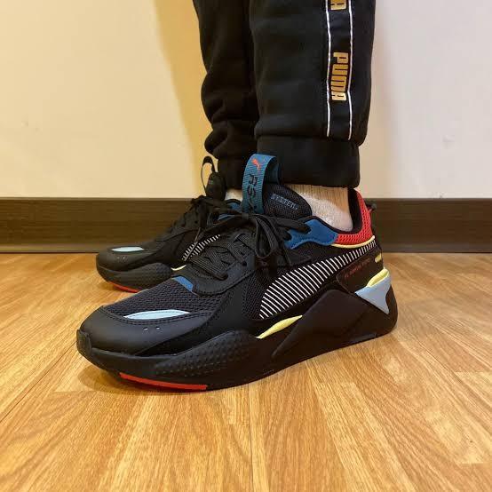 Jual Puma RS-X HD2 Black Ribbon Sneaker