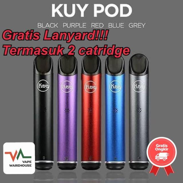 Foto Produk Kuy Pod Kit Original 100% - Ungu dari Vape WareHouse
