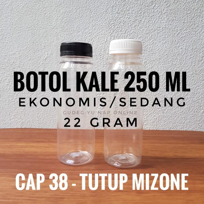 Foto Produk Botol Kale 250 ml EKONOMIS - Botol Plastik 250ml / 250 ml dari Gudeg Yu Nap Online