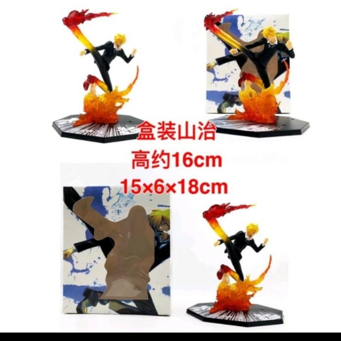 Jual Figure One Piece Sanji Api 18 Cm Jakarta Barat Feca Toys Tokopedia