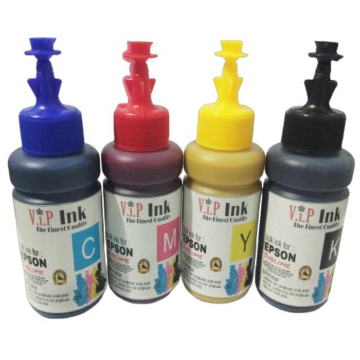 Foto Produk Paket Tinta Sublim Epson 6 Botol Vip ink Grade A Korea Quality dari Mitraink