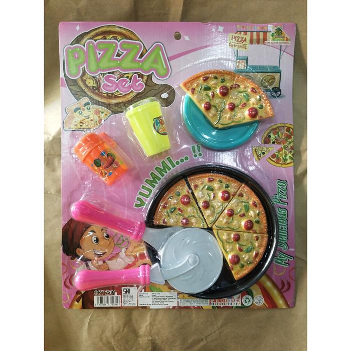 Jual Mainan Pizza Set Aksesoris Jakarta Timur Toys Me Tokopedia
