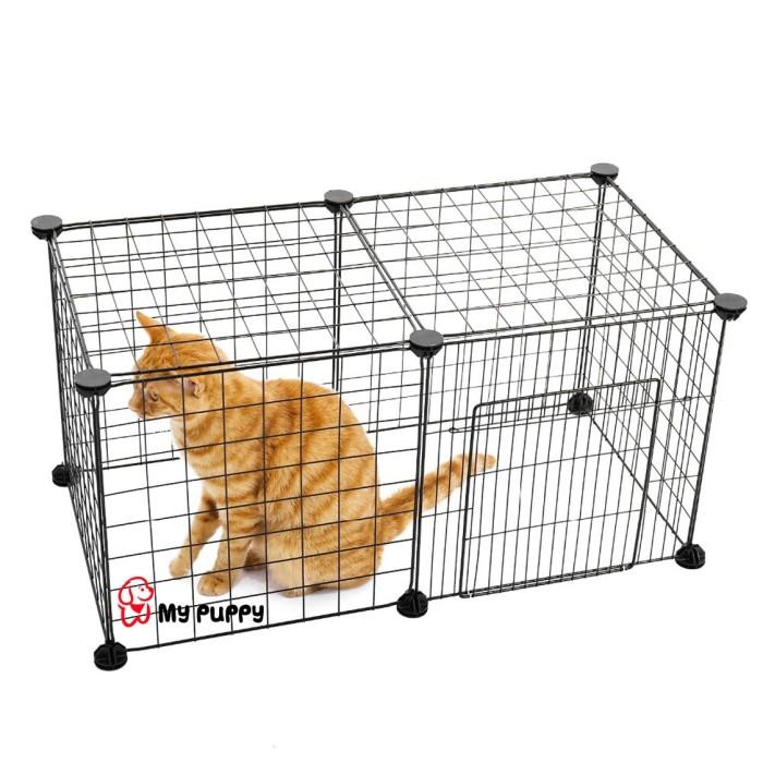 Jual Kandang Mini Diy 7 1 Pintu Untuk Hewan Kecil Anjing Kucing Kelinci Kab Tangerang My Puppy Tokopedia