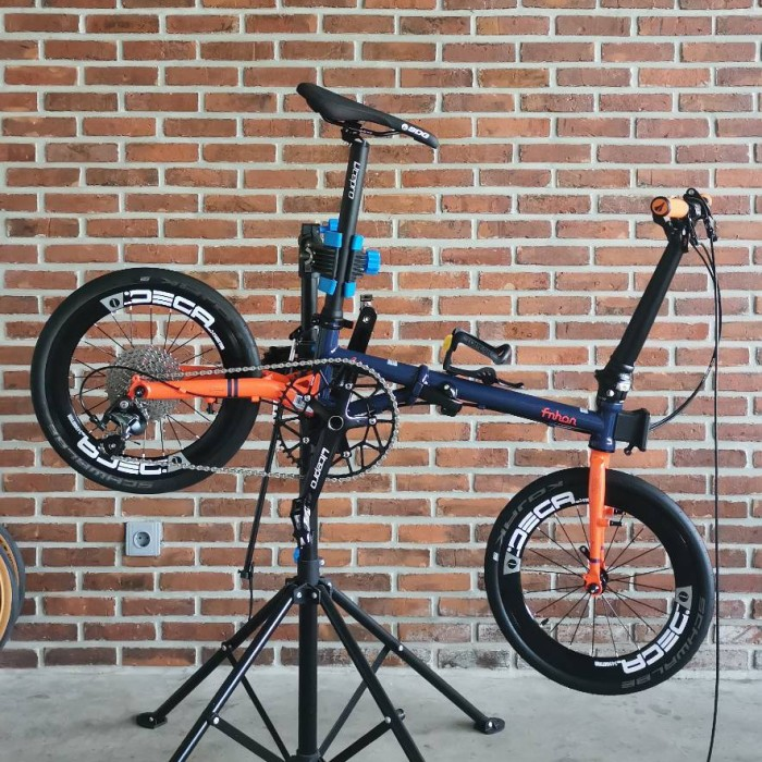 Jual Jasa Modifikasi Sepeda Folding Bike Custom 3sixty Fnhon Brompton Kota Bandung Homy Decor Tokopedia