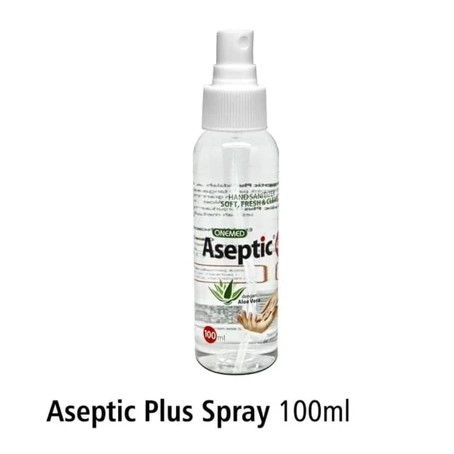 Foto Produk ONEMED ASEPTIC PLUS HAND SANITIZER SPRAY 100 ML dari Daya Prima Alkes