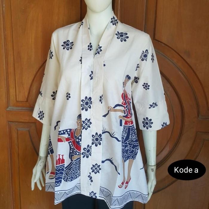 Foto Produk seragam batik kantor blouse jamu dari Batik Sri