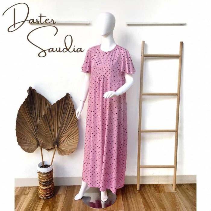 Foto Produk Daster Saudia (new) by Daster Fifi - Merah Muda dari Mabel's shop