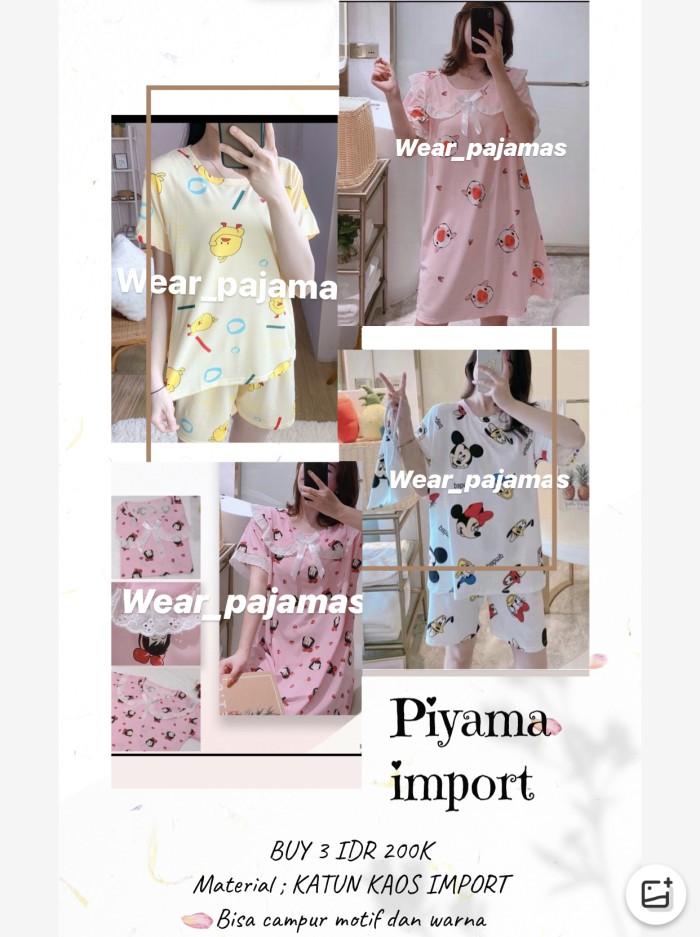 Foto Produk PIYAMA IMPORT TERMURAH BUY 3 IDR 200rb dari Wear Pajamas