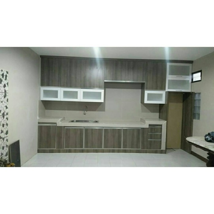 Jual Kitchen Set Murah Minimalis Kab Bandung Fiberglass Custom Tokopedia