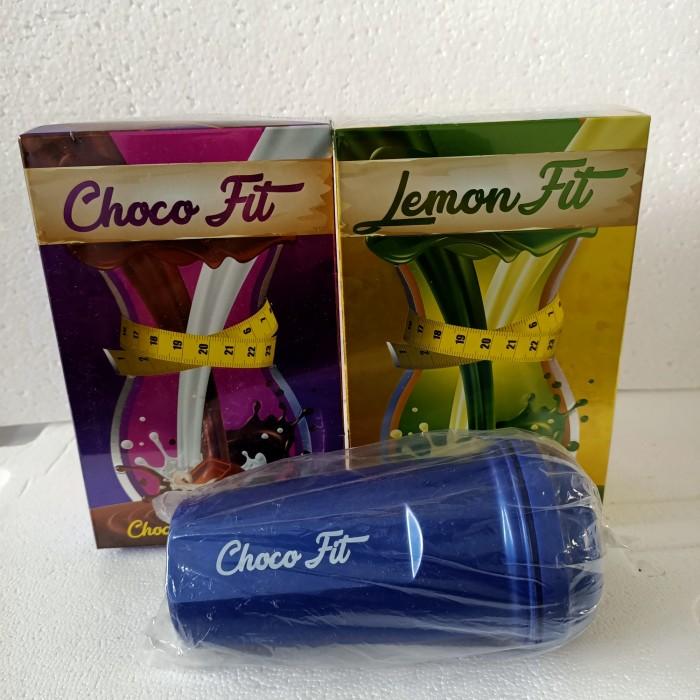 Foto Produk CHOCOFIT DAN LEMONFIT FREE SHAKER dari mirshoppiee