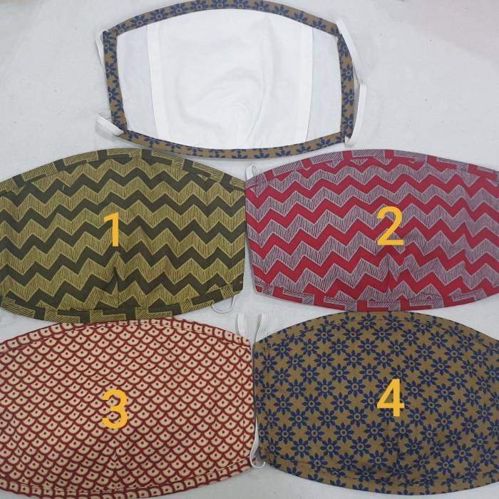 Foto Produk Masker kain batik 3 ply , Produk Batik Keris. dari SinarMakmurVariasi