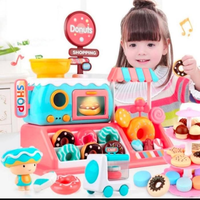 Foto Produk Mainan anak simulasi menjual Donut/Donut Shop toys dari AUTO KID II