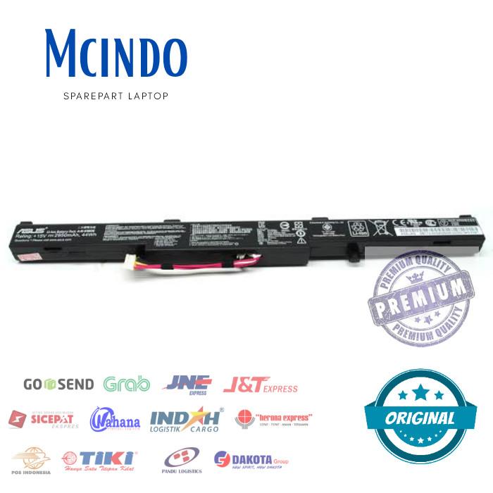 Jual Batre Baterai Laptop Asus X450j Original Model Tanam Original 100 Kota Surabaya Mcindo Tokopedia