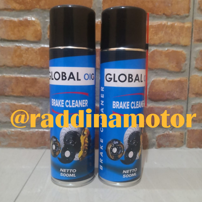 Foto Produk GLOBAL OIG BRAKE CLEANER (cairan pembersih kampas rem) dari raddinamotor