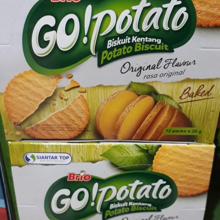 Foto Produk Brio Go Potato Biskuit 240 gr (12 ×20 gr) dari Sumber Berkah Boga