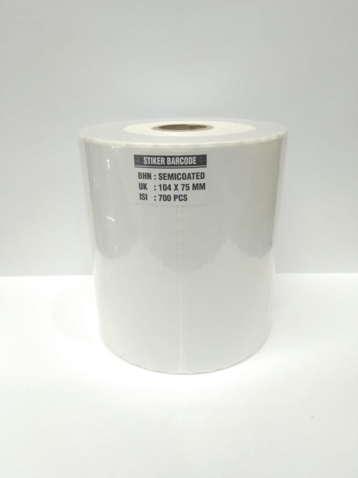 Foto Produk Label Barcode Semicoated 104 x 75 700pcs dari PojokITcom Pusat IT Comp