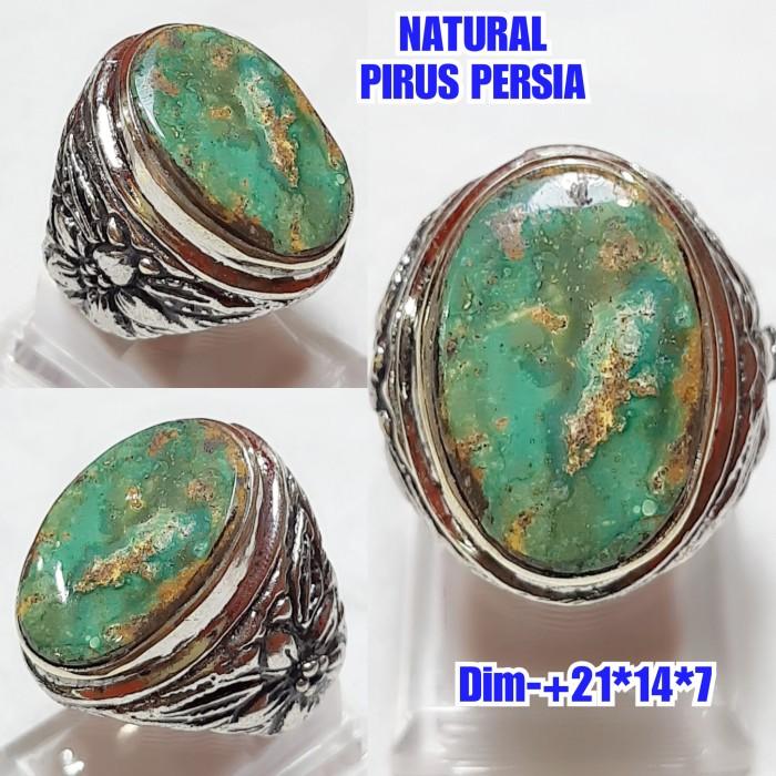 Foto Produk NATURAL BATU PIRUS PERSIA URAT MERAH C76 dari arjuna cincin