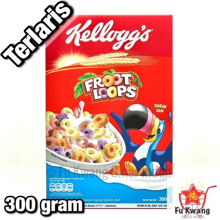 Foto Produk Kelloggs Kellogs Kellogg's Sereal Froot Loops 300 gram dari Fu Kwang Mart