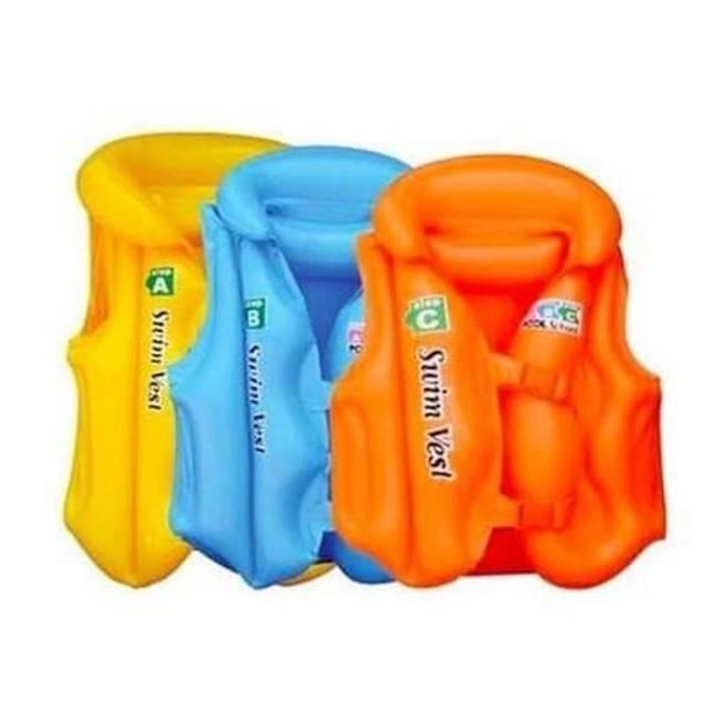 Foto Produk [L] Rompi Pelampung Renang Swim Vest Ukuran L Pelampung Anak Ban Jaket dari AnerStore