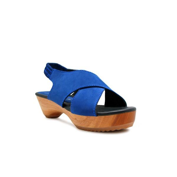 Foto Produk CLOGS Edelweiss - Blue Nb 4cm dari Natana Shoes