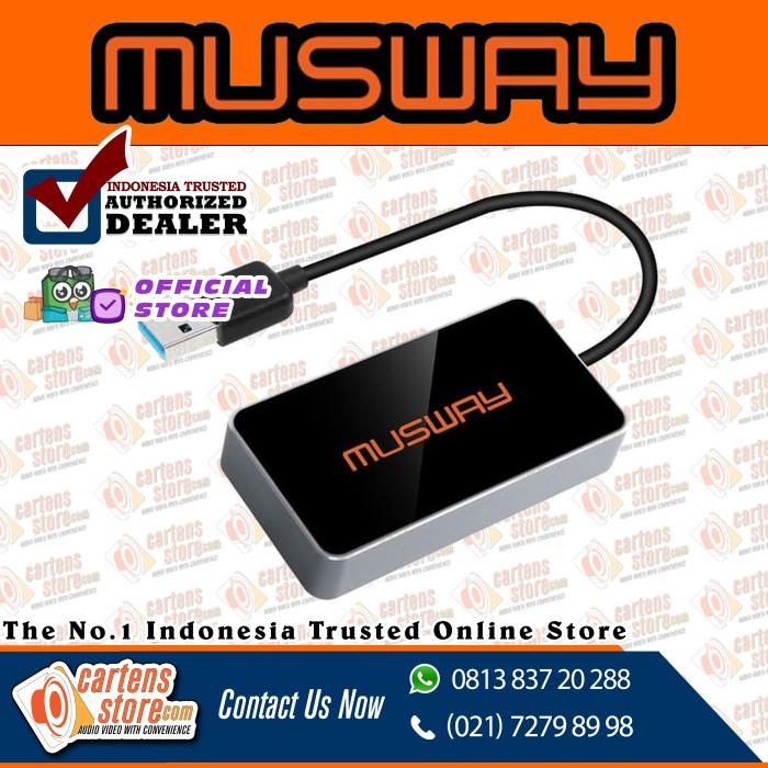 Foto Produk Bluetooth Musway BTS HD by Cartens Audio dari Cartens Store