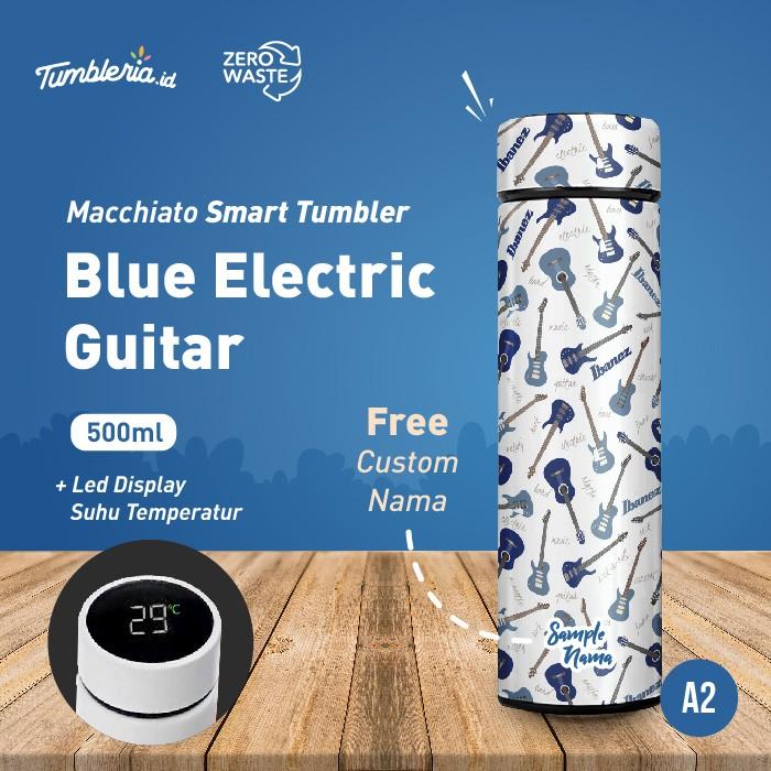 Foto Produk Macchiato Smart Tumbler I Blue Electric Guitar dari Bogorprint Express