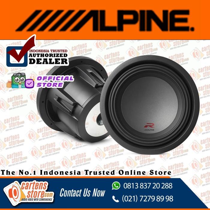 "Foto Produk Alpine Subwoofer 10"" R-W10D4 by Cartens Audio dari Cartens Store"