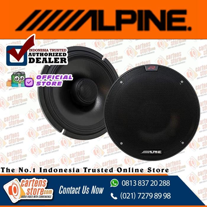 Foto Produk Alpine Coaxial 2 Ways Speaker by Cartens Audio dari Cartens Store